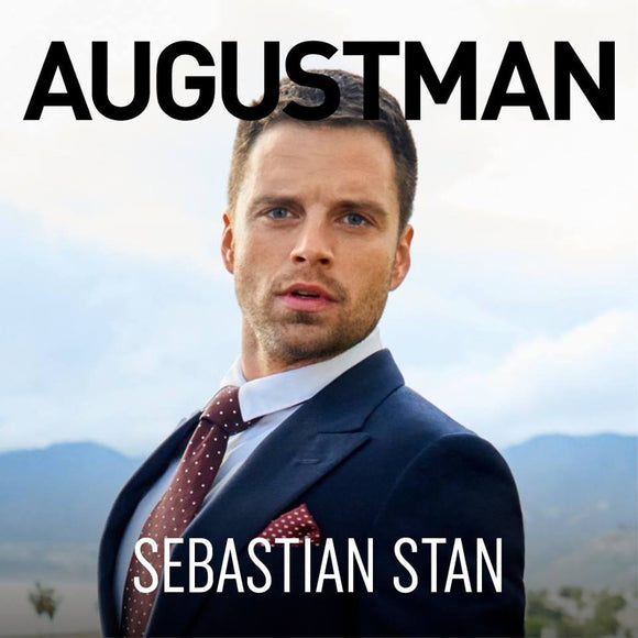 AUGUST MAN MAGAZINE APRIL 2018 SEBASTIAN STAN COVER STORY