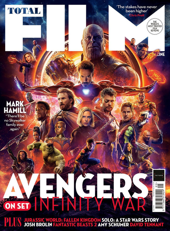 Total Film Magazine May 2018: AVENGERS: INFINITY WAR SEBASTIAN STAN CHRIS HEMSWORTH