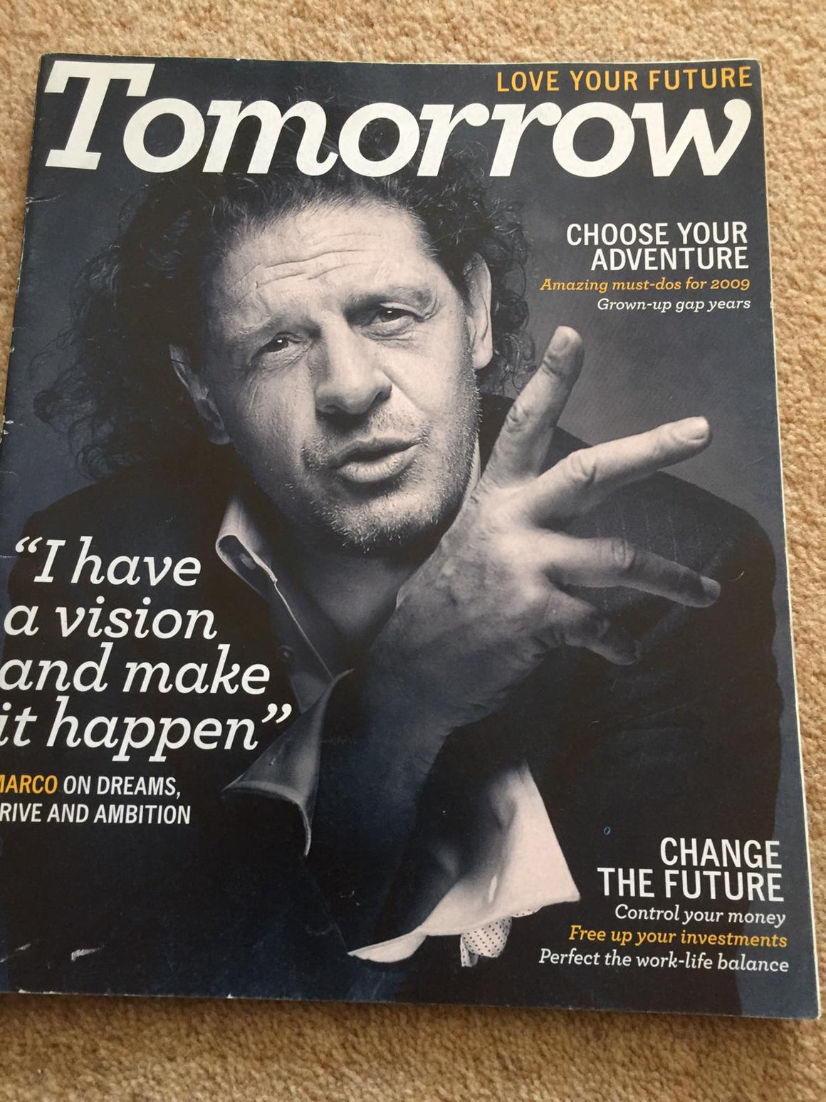 Tomorrow Magazine 2009: Marco Pierre White Cover Interview