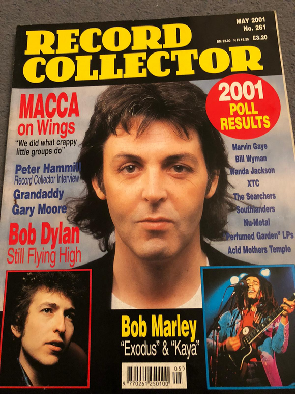 Record Collector Magazine #261 - May 2001 - Paul McCartney The Beatles Bob Dylan
