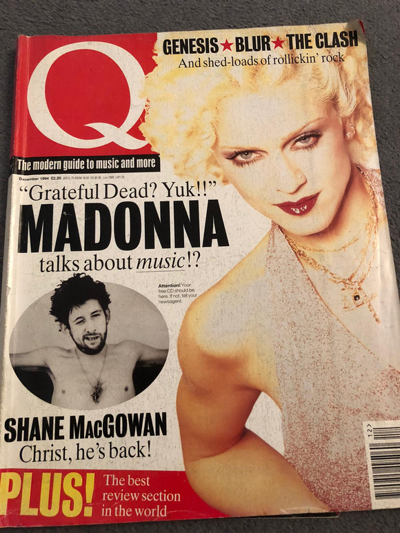 Q MAGAZINE - Issue 99 - December 1994 - Madonna