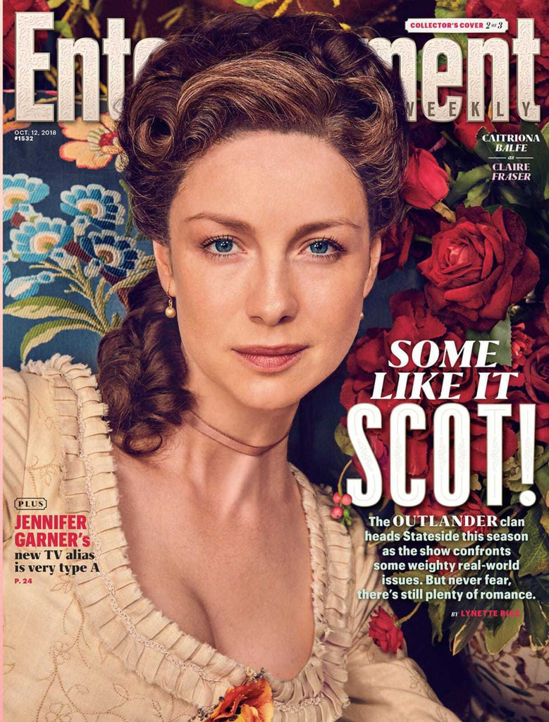 US Entertainment Weekly October 2018: Caitriona Balfe Outlander Cover Sam Heughan