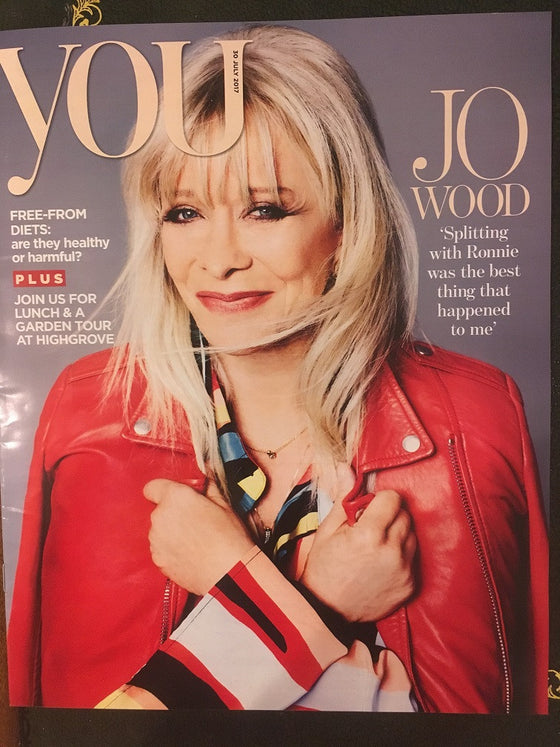 UK You magazine 30th July 2017 Jo Wood Ronnie Sam Heughan Leanne Cope