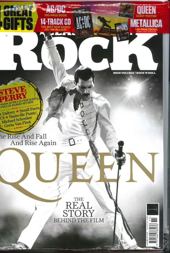 UK Classic Rock Magazine November 2018: Freddie Mercury Queen Greta Van Fleet