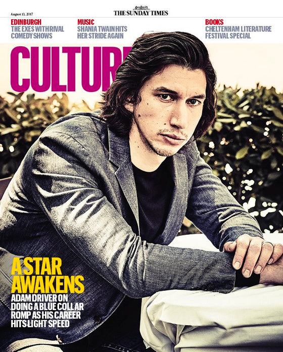 UK Culture magazine 13 August 2017 Adam Driver Shania Twain Stockard Channing