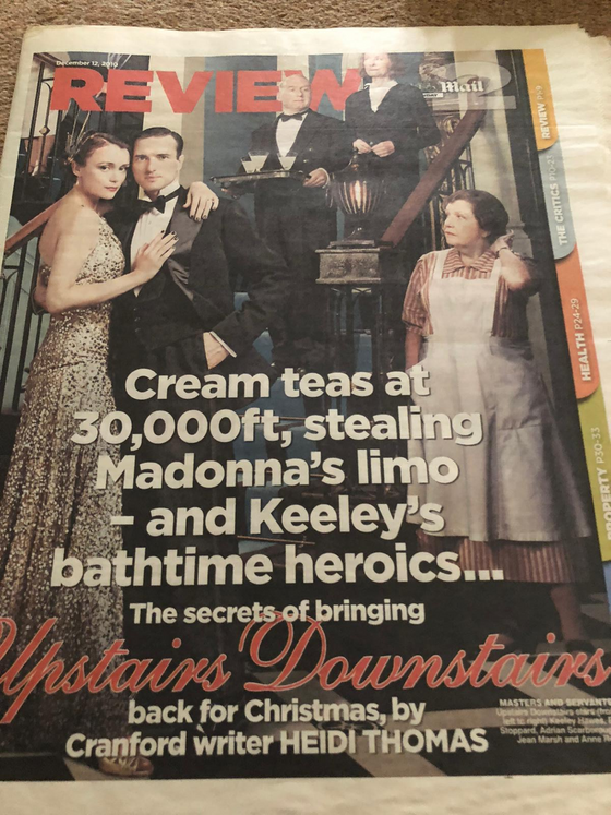 Mail 2 Review December 2010 Keeley Hawes Upstairs Downstairs