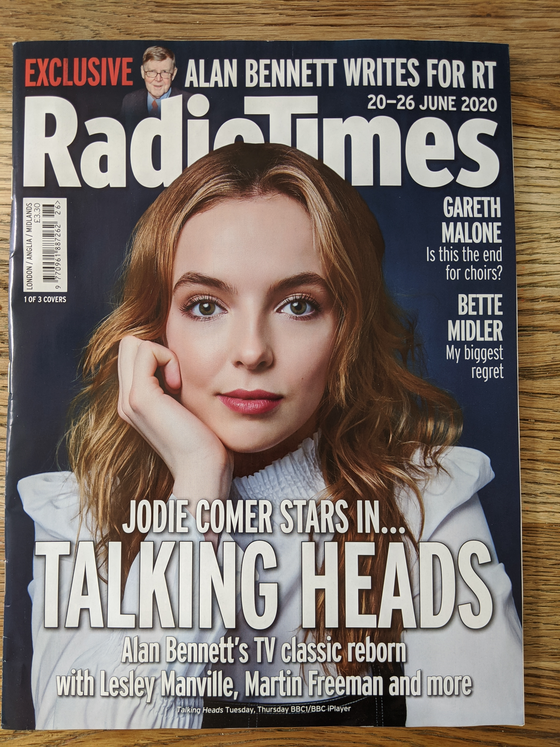 Radio Times Magazine 20th June 2020: JODIE COMER TALKING HEADS COVER FEATURE