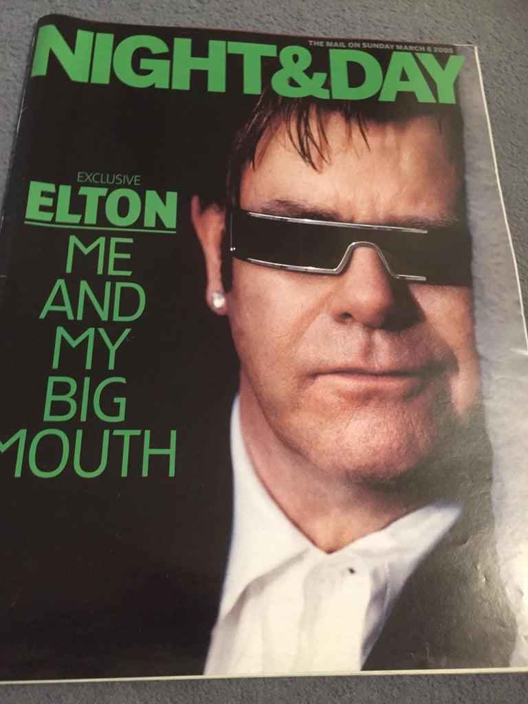 Mail on Sunday Night & Day Magazine (6/3/05) - Elton John cover