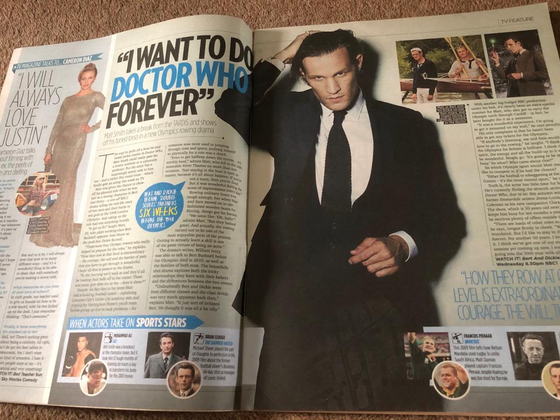 TV Magazine 27 September 2012 Matt Smith Interview