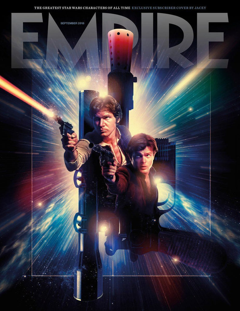 Empire Magazine September 2018: GREATEST STAR WARS CHARACTERS SUBSCRIBER'S COVER