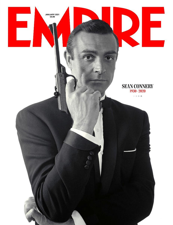 Empire Magazine January 2021 - Sean Connery Limited Edition Tribute - James Bond