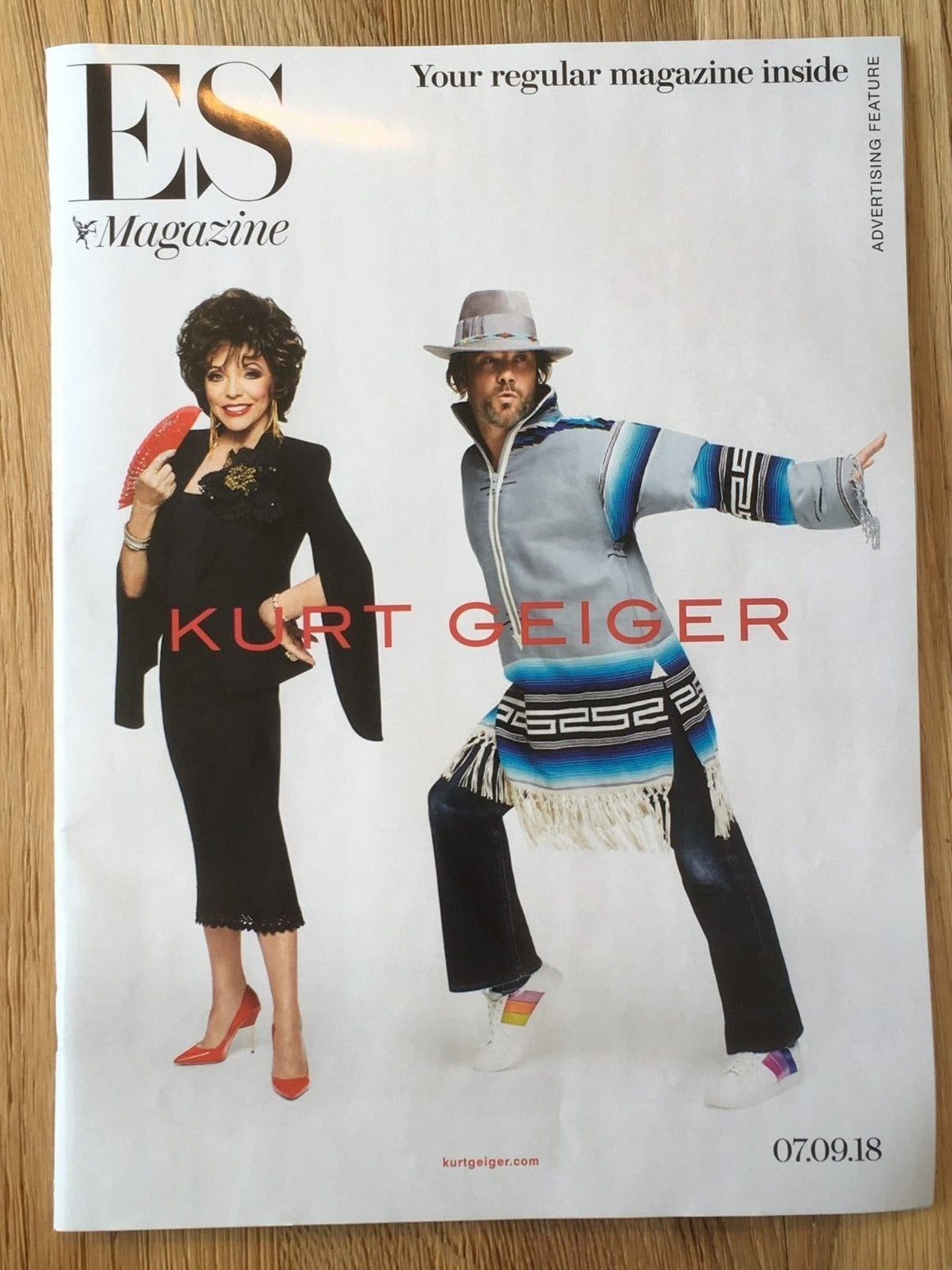 London ES UK Magazine 7th Sept 2018: JOAN COLLINS Jay Kay JAMIROQUAI
