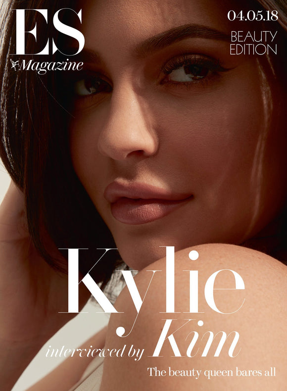 UK ES Magazine May 2018: KYLIE JENNER interviewed by KIM KARDASHIAN