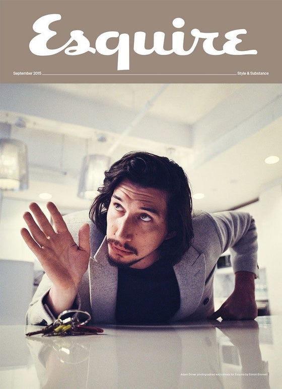 COLLECTOR'S EDITION UK ESQUIRE MAGAZINE ADAM DRIVER SEPTEMBER 2015