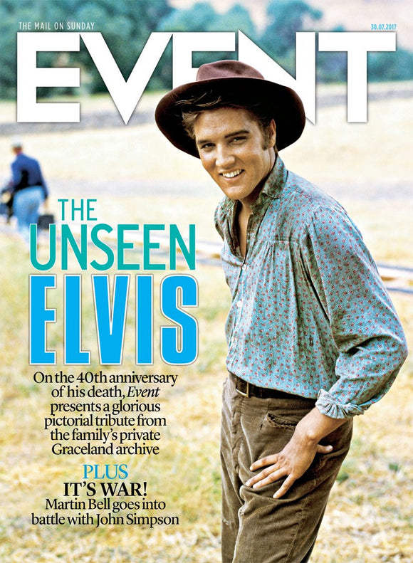UK Event magazine 30th July 2017 Elvis Presley 40th Anniversary Photo Tribute