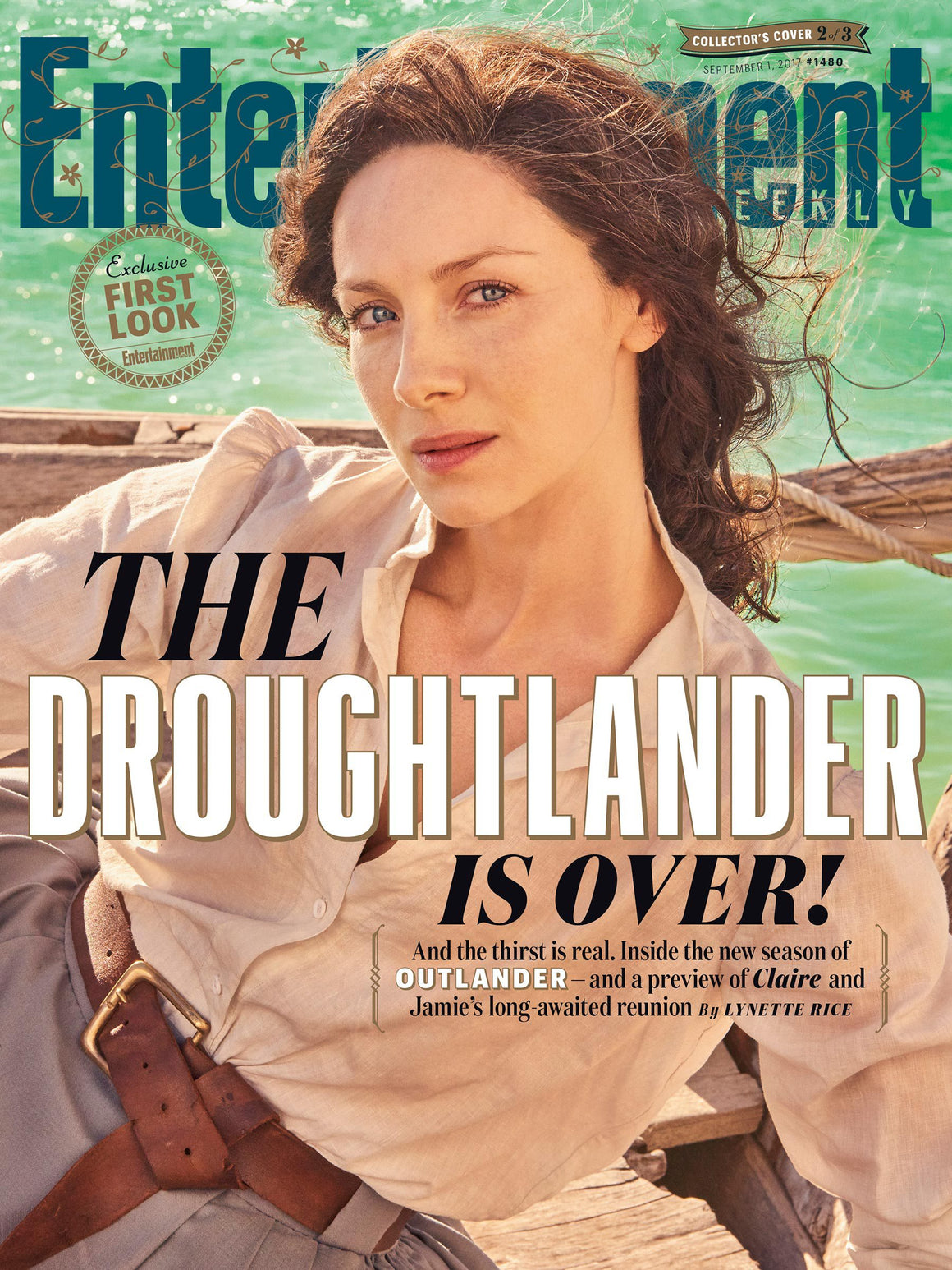 Entertainment Weekly Magazine 1 September 2017 Caitriona Balfe Outlander Special Cover 2