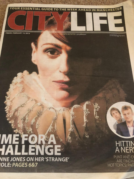City Life Supplement 14 Feb 2014: Suranne Jones Cover