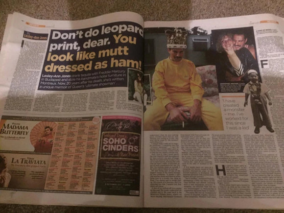 Mail 2 Review October 2 2011: Freddie Mercury (Queen)