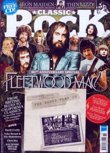 Fleetwood Mac 50th Anniversary cover of Classic Rock Magazine