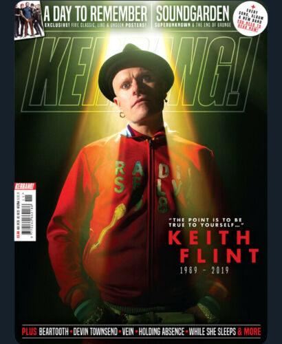 KERRANG! magazine March 2019: Keith Flint (The Prodigy) Tribute Issue - Soundgarden Chris Cornell