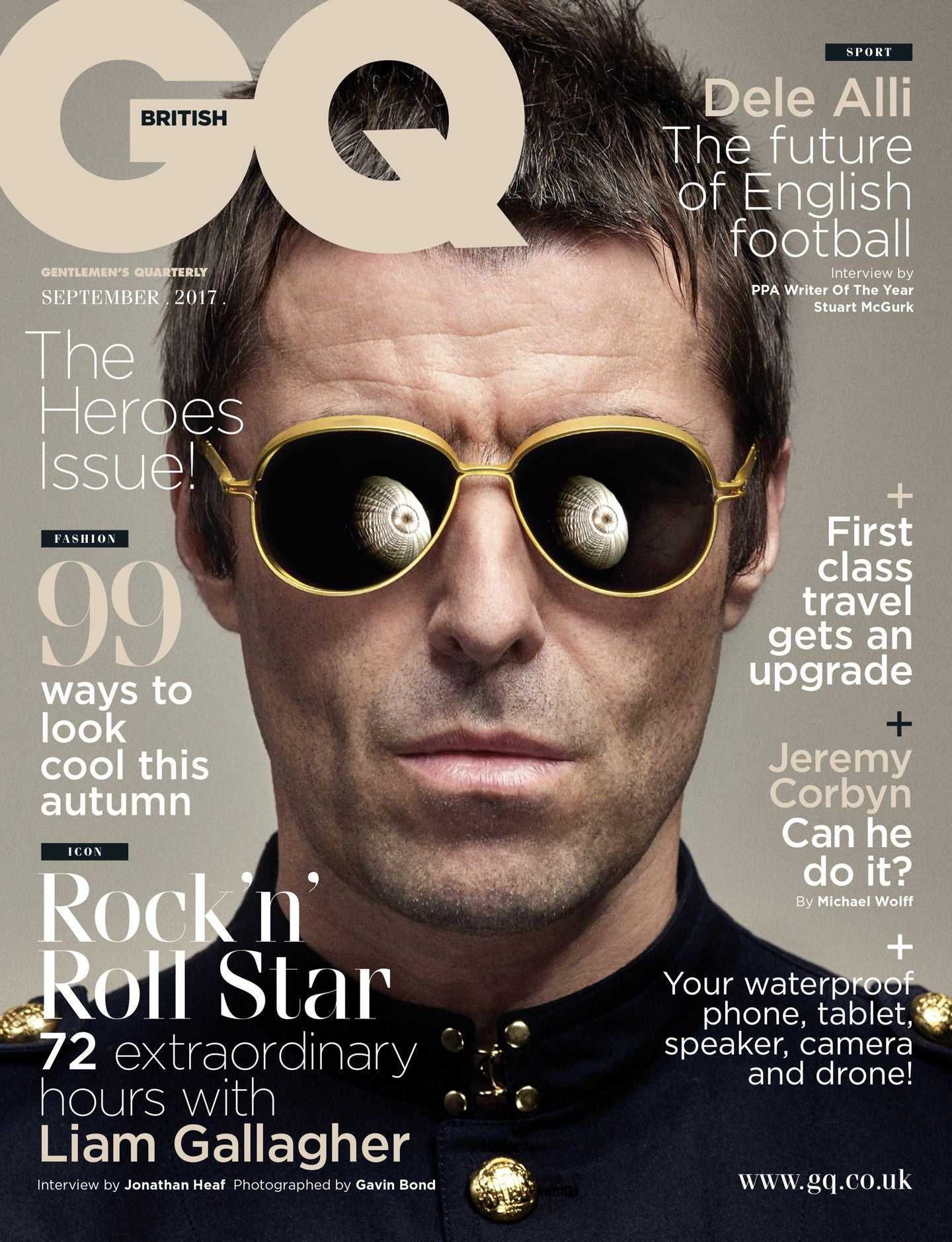 Gq Magazine The Secrets Of R Kelly: UK GQ Magazine September 2017 Liam Gallagher Exclusive