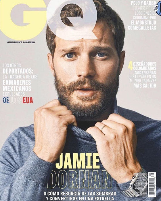 NEW JAMIE DORNAN GQ MEXICAN MAGAZINE SEPTEMBER 2018