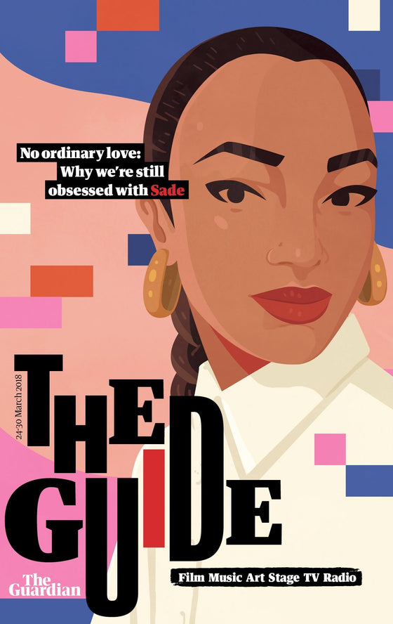 UK Guardian Guide Magazine March 2018 SADE COVER STORY