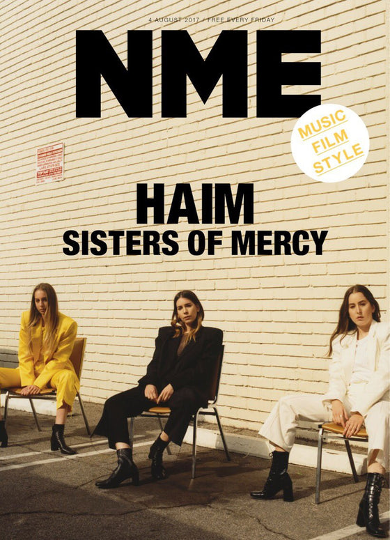 HAIM - Sister of Mercy Photo Cover interview UK NME MAGAZINE August 4th 2017