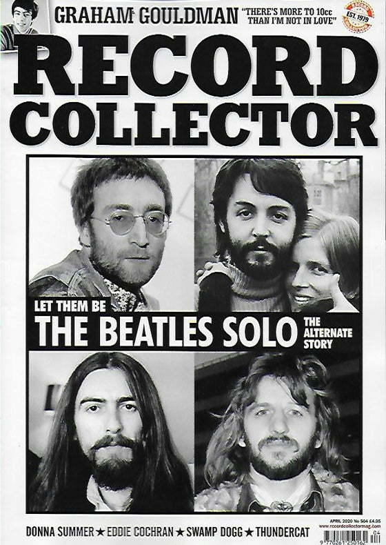 RECORD COLLECTOR magazine April 2020 - THE BEATLES Paul McCartley Eddie Cochran