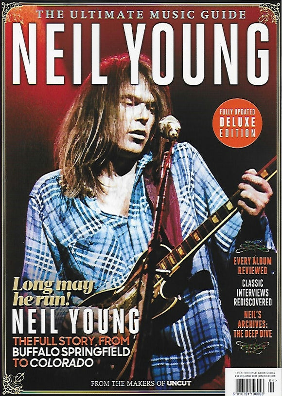 Uncut Ultimate Music Guide Magazine - Neil Young (April 2021)