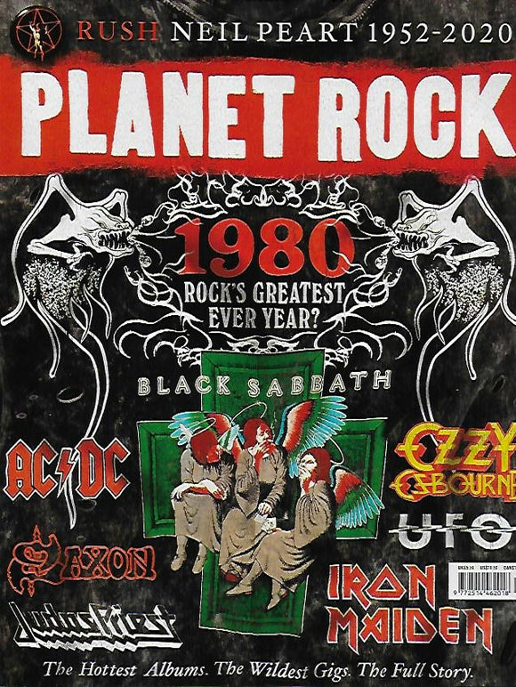Planet Rock Magazine #19: NEIL PEART (Rush) IRON MAIDEN Judas Priest UFO AC/DC
