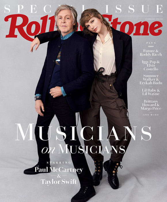 US Rolling Stone Magazine December 2020 Taylor Swift & Paul McCartney