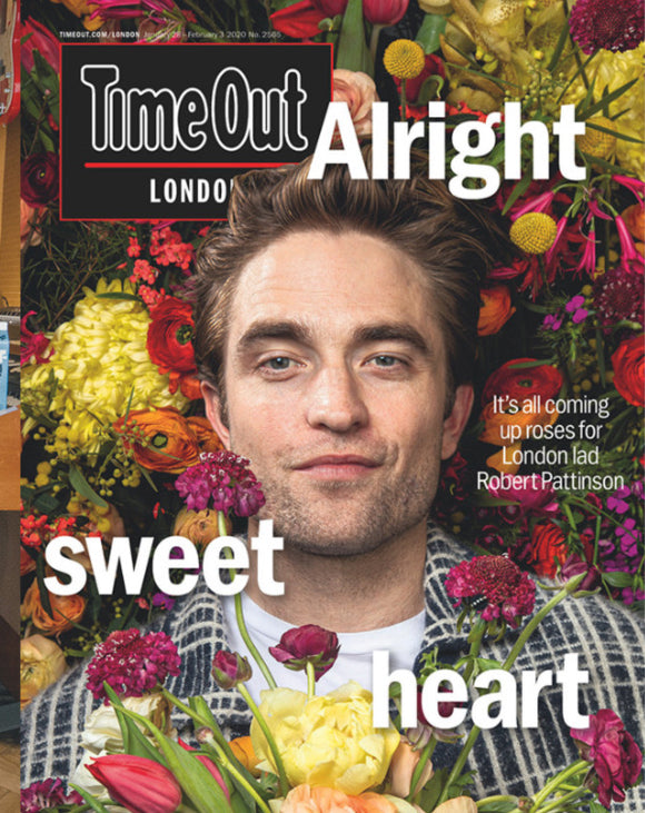 Time Out London Magazine Jan 2020: Robert Pattinson