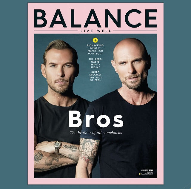 London Balance Magazine March 2019: Bros Cover Interview