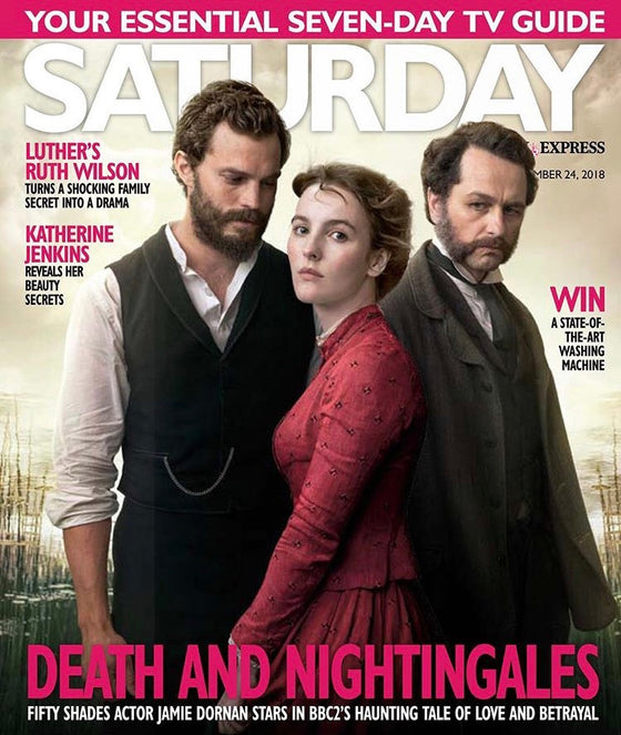 UK Saturday Magazine November 2018 Jamie Dornan Matthew Rhys