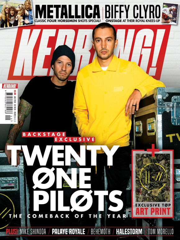 Kerrang! Magazine October 2018: Twenty One Pilots