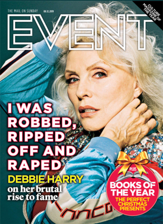 UK Event Magazine December 2019: Blondie (Debbie Harry)