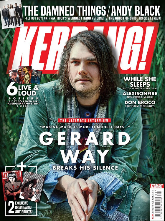UK Kerrang! February 2019 Gerard Way My Chemical Romance