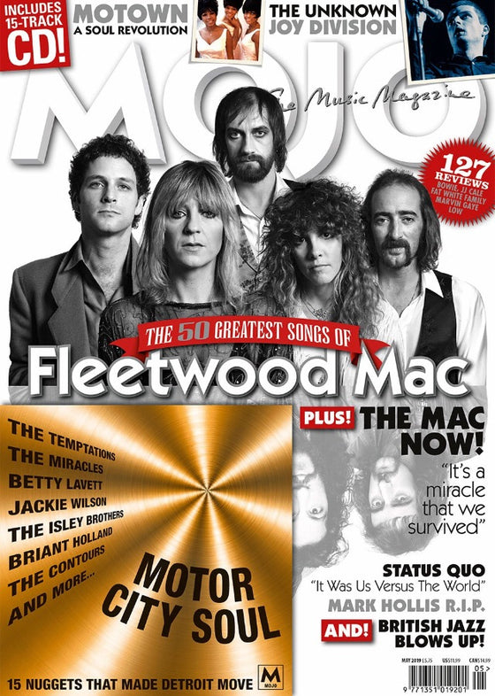 UK Mojo magazine May 2019: Fleetwood Mac Cover Feature