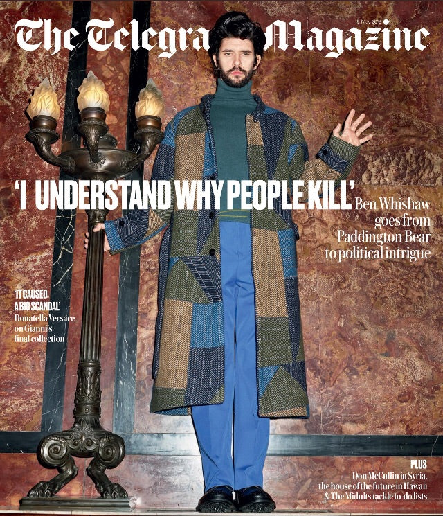 UK Telegraph Magazine May 2018 BEN WHISHAW Cover story