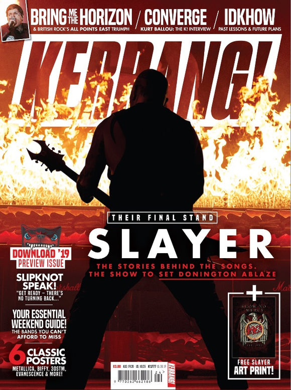 UK Kerrang! Magazine June 2019 - Slayer
