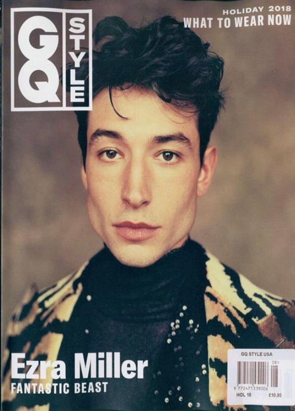 GQ Style US edition 2018 Ezra Miller