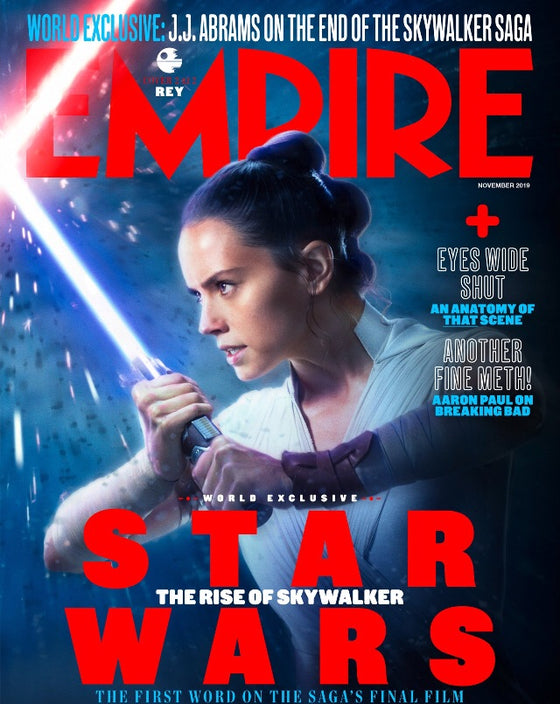 EMPIRE Magazine November 2019: Star Wars Rey (Daisy Ridley) #2