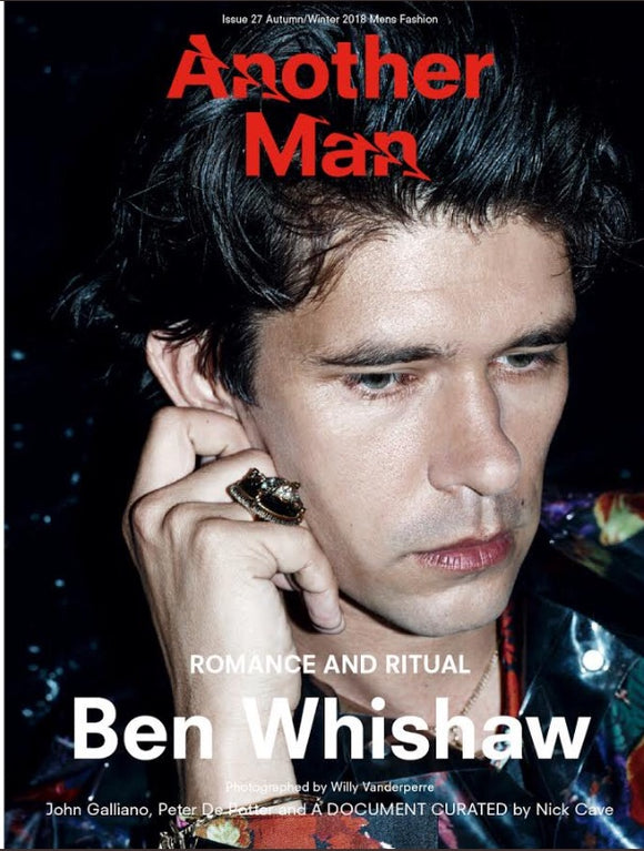 Another Man Magazine: Ben Whishaw Cover