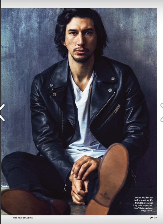 UK Red Bulletin Magazine September 2018: Adam Driver Interview