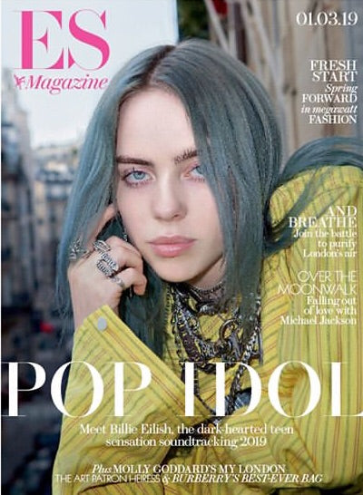 London ES Magazine March 2019: Billie Eilish