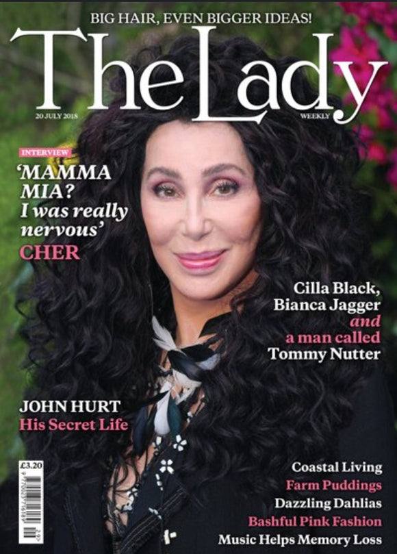 U.K. Lady Magazine July 2018: CHER Cover Interview