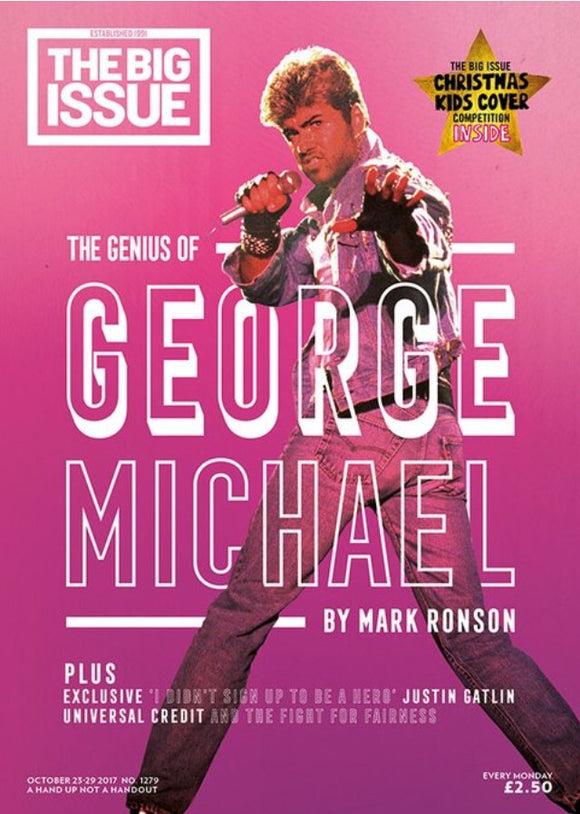 UK Big Issue Magazine October 2017 George Michael Cover And Special