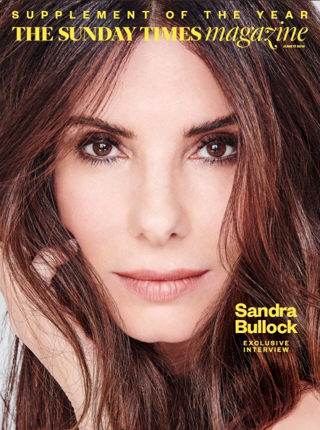 The Sunday Times Magazine June 2018: Sandra Bullock Cover Interview