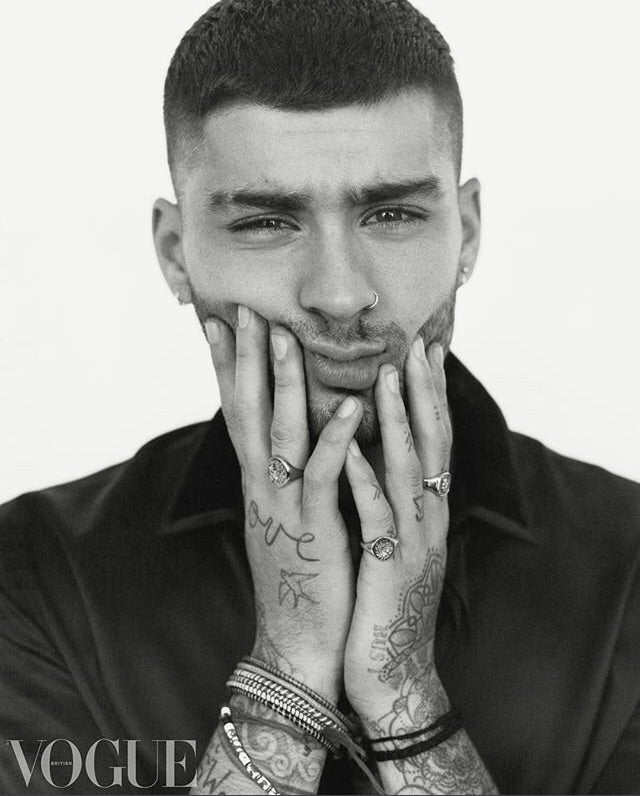 British Vogue Magazine December 2018 Zayn Malik